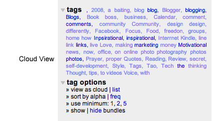tagscloud Why Ill Never Use My Browsers Bookmark Feature Again