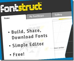 fontstruct website image