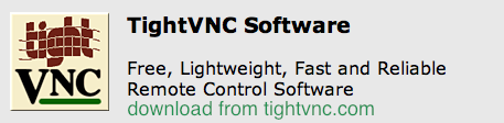 tightvnc download How to control a Mac from a Windows PC